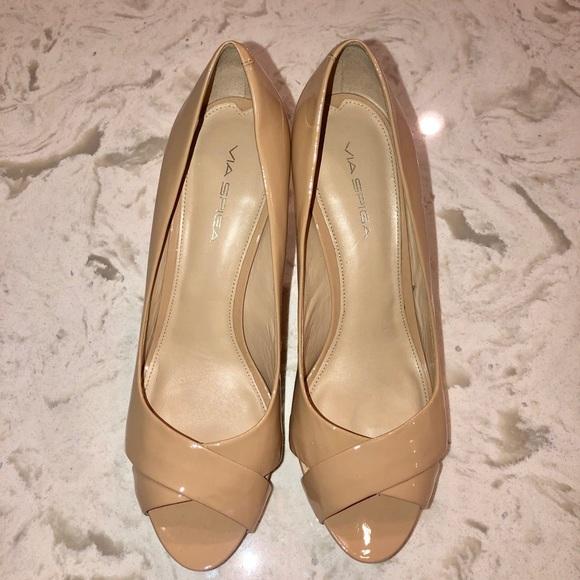 Via Spiga Shoes - Via Spiga Peep Toe Pump-Size 10
